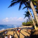 Sandy Beach on a 'Crowded' Day
